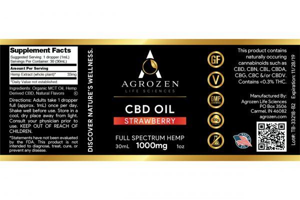 Full Spectrum 1000mg CBD Oil