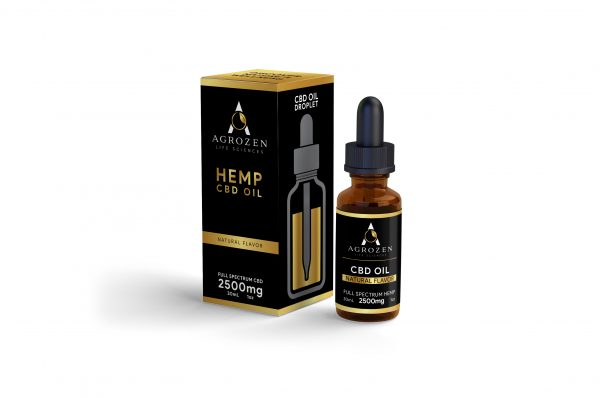 Full Spectrum 2500mg CBD Oil